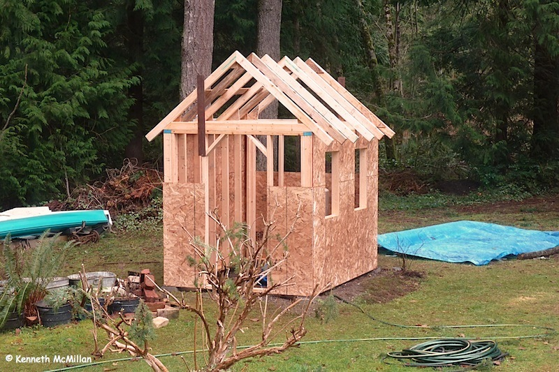 How To Build A Pump House Shed Quick Woodworking Projects